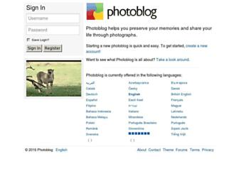 photoblog.com screenshot