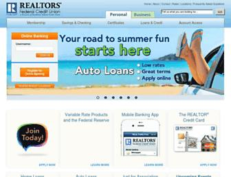 Thumbshot of Realtorsfcu.org