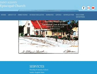 st-albans-church.org screenshot