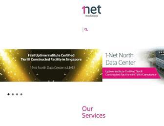 1-net.com.sg screenshot