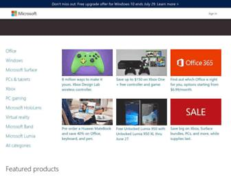 Thumbshot of Microsoftstore.com