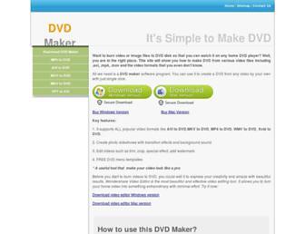 dvdmaker.co screenshot