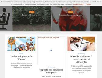 Main page screenshot of atuttonet.it