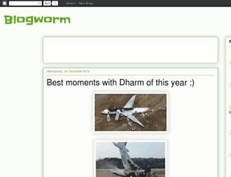 bloggworms.blogspot.com screenshot