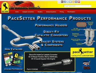 Thumbshot of Pacesetterexhaust.com