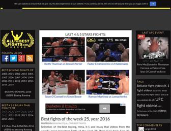 Thumbshot of Allthebestfights.com