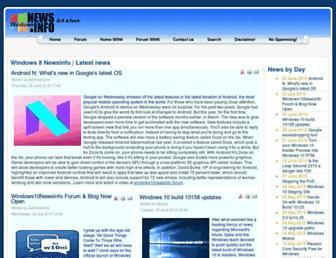windows8newsinfo.com screenshot