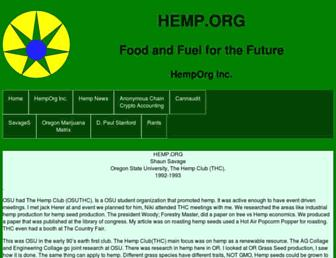 Thumbshot of Hemp.org