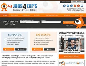 jobs4ecps.ca screenshot