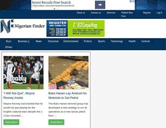 nigerianfinder.com screenshot