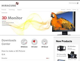miracube.net screenshot