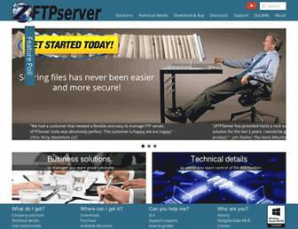 zftpserver.com screenshot
