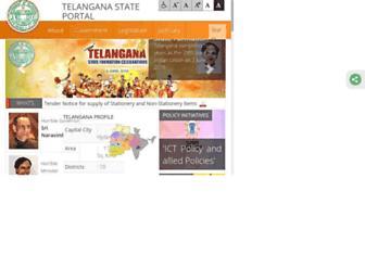 telangana.gov.in screenshot