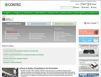 contec.com screenshot