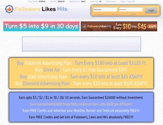 Thumbshot of Followerslikehits.com