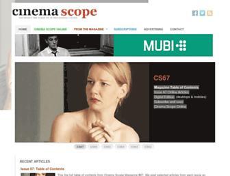 cinema-scope.com screenshot