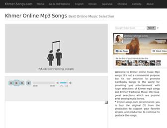 khmer-songs.com screenshot