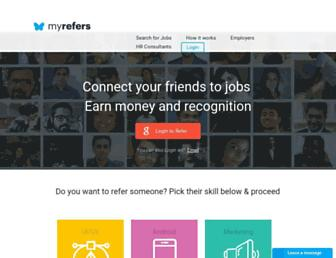 Thumbshot of Myrefers.com