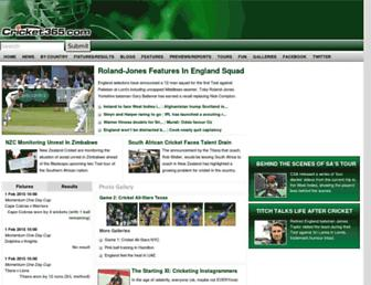 Thumbshot of Cricket365.com