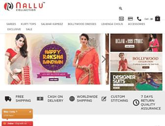 nallucollection.com screenshot