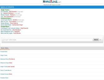 raagtune.com screenshot