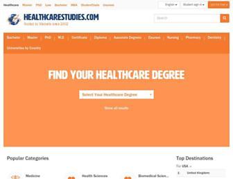 healthcarestudies.com screenshot
