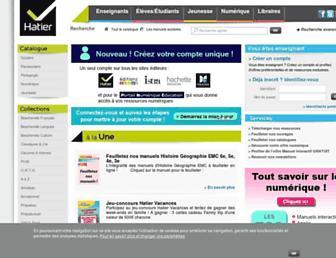 Thumbshot of Editions-hatier.fr