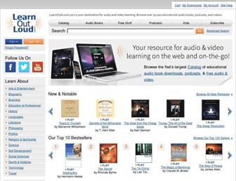 learnoutloud.com screenshot