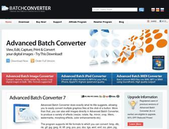 batchconverter.com screenshot