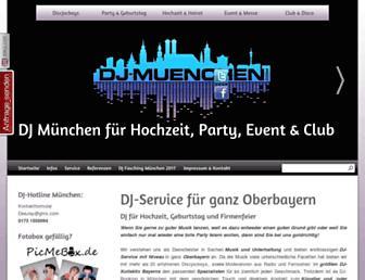 Thumbshot of Dj-muenchen.com