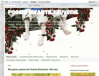 bibliopoemes.blogspot.com screenshot