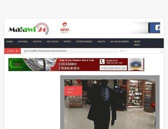 malawi24.com screenshot