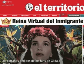 elterritorio.com.ar screenshot