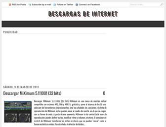 descargas-de-internet.blogspot.com screenshot