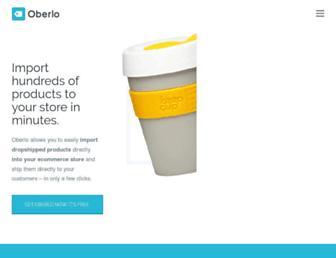 oberlo.com screenshot