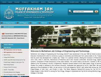 mjcollege.ac.in screenshot
