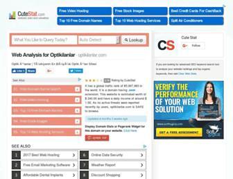 optikilanlar.com.cutestat.com screenshot