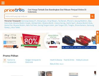 pricearea.com screenshot