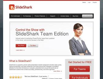Thumbshot of Slideshark.com