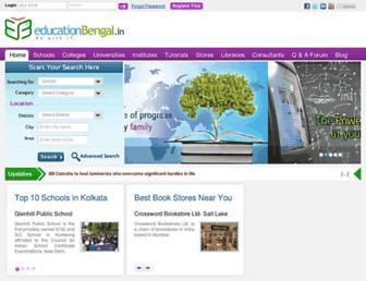 educationbengal.in screenshot