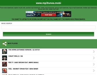 mp3tunes.mobi screenshot