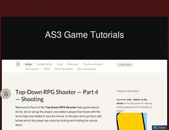 as3gametuts.com screenshot