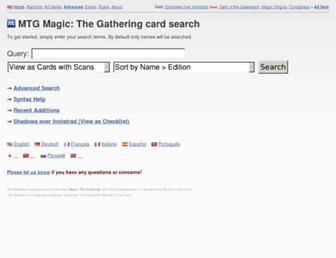 Thumbshot of Magiccards.info