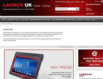 launchtech.co.uk screenshot