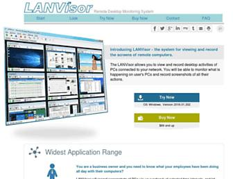 lanvisor.com screenshot