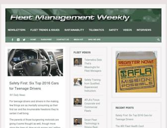 fleetmanagementweekly.com screenshot