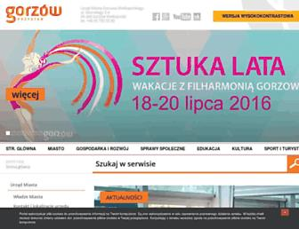 Thumbshot of Gorzow.pl