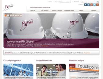 fmglobal.co.uk screenshot