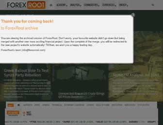 Thumbshot of Forexroot.com