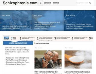 Thumbshot of Schizophrenia.com